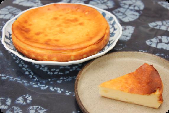 牛乳トーフでつくるチーズケーキ